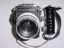 KOWA SIX with Kowa 85mm f2.8 lens + Grip