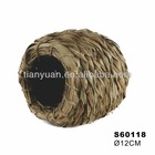 small animal woven grass coven /pet house