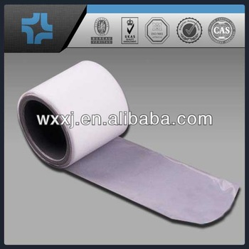 Radiation-resistant properties and low permeability PTFE film