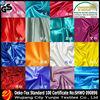 2014 polyester satin drapery fabric for wedding