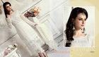 White embroidered designer Indian dress