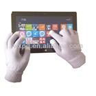 smart glove/touch screen glove/conductive phone