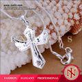 moda rame in argento placcato croce di gioiellerie p228