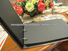 Photo book printing with hard cover and spiral bound
