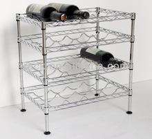 New!!! 3 Tiers Mini Metal Wine Shelf
