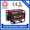 WT3800 3KW gasoline mini electric start generator with CE/SONCAP