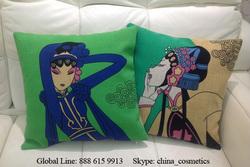 2014 New Linen Fashion Linen Cushion Linen Pillow