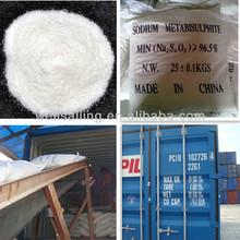 Sodium metabisulfite msds