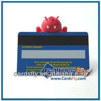 Mag strip PVC card with signature panel