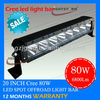 Automotive part 4X4 led light bar wholesale led light bar with 80w offroad led light bar with 10-30v