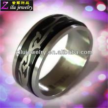 316L custom stainless steel men s rings