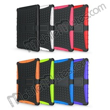 2 in 1 PC TPU Hybrid Case Basketball Pattern Back Cover for iPad Air