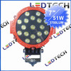 "6"" 51W LED DRIVING SPOT LIGHT, OFF ROAD 4X4"