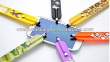 silicone slap bracelet,stylus pen with slap bracelet