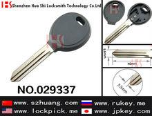 Hot-sale car key blank auto transponder key cover,case,shell,casing of Y157 no logo/029337