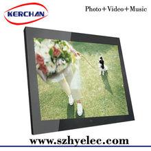 15 inch advertising monitor/video advertising monitor/lcd display advertising monitor