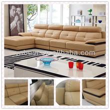 Brown nicoletti furniture corner sofa