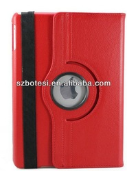 rotating case for ipad 5, hot selling