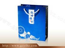 Tea gift paper bag wholesale