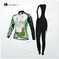 Largo de ciclismo jersey bib set/bicicleta de desgaste en el diseño especial para las mujeres