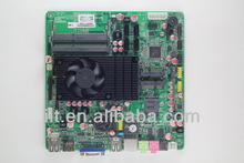 AMD Dual Core MINI ITX HD Motherboard 2*mini PCI-E Slot Wifi and SSD, AMD Hudson D1 Chipset, HD6310 Display Card