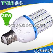 E40 retrofit 20w led corn bulb for parking lot