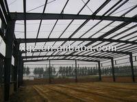space frame steel structure galvanized sheet metal workshop