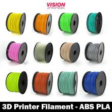 3D Printing Filament, ABS & PLA Printing Filament (1.75mm & 3mm)