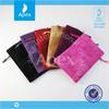Colorful drawstring velvet bag