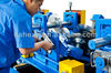 CZ purlin construction equipment steel building frame machinery with high efficient punching and cutting system