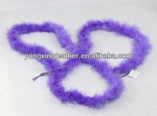 sexy purple feather boas for wedding