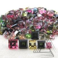 Multi Color Tourmaline Natural Gemstones, Wholesale Semi Precious Multi Color Tourmaline Loose Gemstones