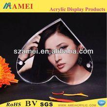 customized acrylic acrylic photo frame backboard/POP acrylic acrylic photo frame backboard