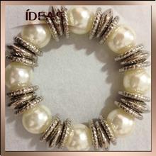 artificial pearl elastic bracelet
