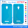 new sky travel portable soft tpu case for alcatel one OT7025