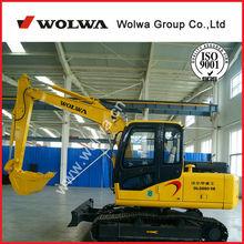 Wolwa DLS880-9B mini crawler excavator for sale with amazing price