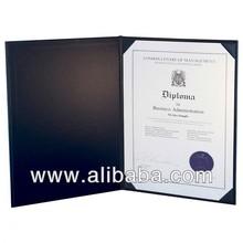"15ALLBlueLandscape Deluxe Saver Certificate Covers 8-1/2 x 11"" - Blue Landscape"