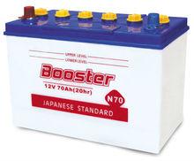 Starting Car Battery 12V N70 Dry Battery Lead-Acid Battery 70AH