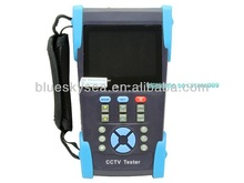 "HVT-2611 3.5"" Full-View Camera CCTV IP Tester PTZ PING Optical Power Meter 12VPTZ PING Optical Power Meter 12V"