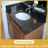 granite Tan Brown vanity bathroom manufactory