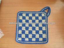 Cotton crocheted