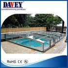 swimming pool telescopic cover