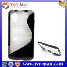 S Line TPU PC Case For LG Nexus 5