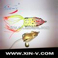 live frog silicone produto peixes pulando idiota