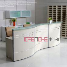 tanning salon reception desks corner desk for waiting visitors A009