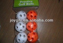 Plastic Practice Golf Ball