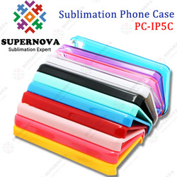 Customized Hard PC Case for iPhone5C with Aluminum Insert