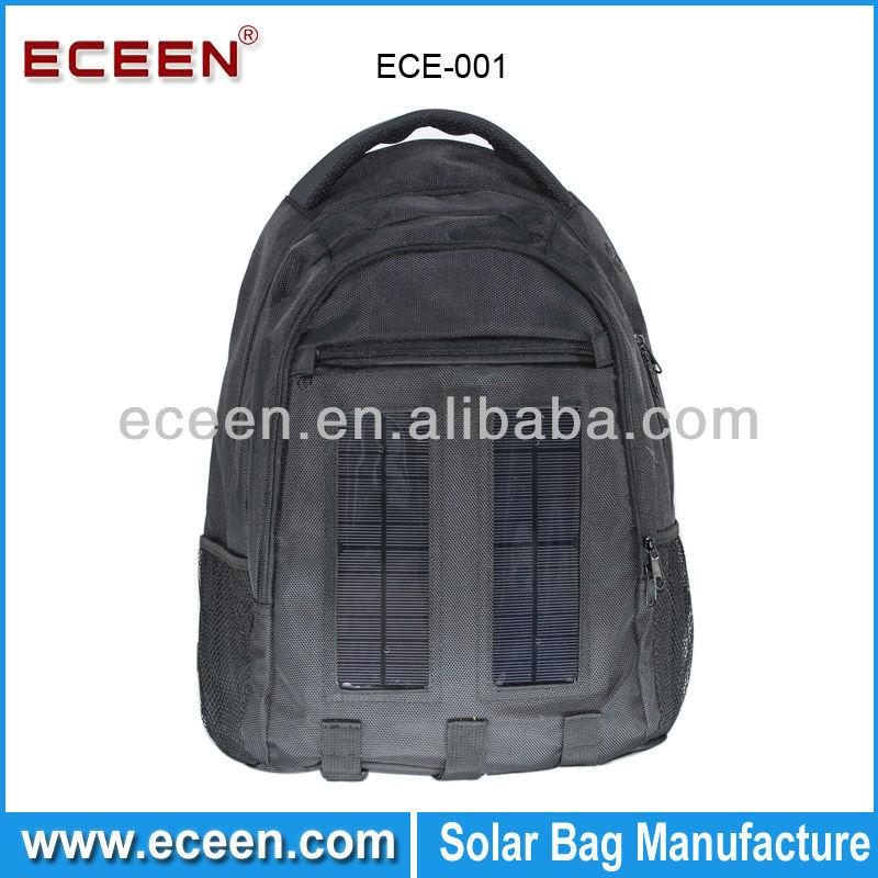 Innovative solar charging system laptop sleeve solar bag