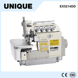 EXT5114DD Direct drive high speed cylinder bed top and bottom feed industrial overlock sewing machine 4 thread jack sewing machi