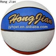 jiangyin rainbow rubber basketball size 6
